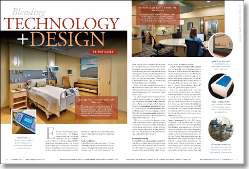 central washington hospital, HDR, Stryker, ICU rooms, Steelcase, Mission Trail Baptist Hospital, Rauland-Borg Corp., touch-screen monitor, voice over internet protocol phones, earl swensson associates, quick response codes, socialconnect, smart phones, humanscale
