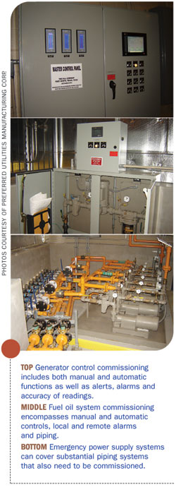 Images showing various piping and monitoring industrial equipment