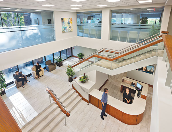 new medical center reflects trend of converting existing space hfm