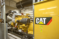 Caterpillar generator system at Tift Regional Medical Center in Tift, Ga.