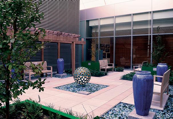 Charmant Serenity Garden At The University Of Pennsylvania Perelman Center For  Advanced Medicine