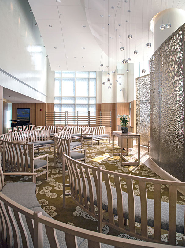 Children S Hospital Features Unique Chapel Hfm