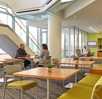 Ambulatory center borrows design ideas from retail, airline ...