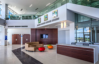 Photo Courtesy Of HKS Dallas The Hospital And Training Center Was Designed To Be As Maintenance Free Possible