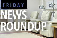 chemotherapy facility and Friday News logo