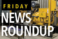Power generator system and Friday News Roundup logo