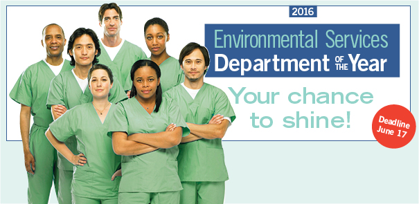 Environmental Services Department of the Year award banner